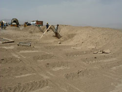 Soil based Raw material at Afghanistan