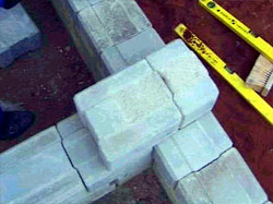 Interlocking Dry Masonry